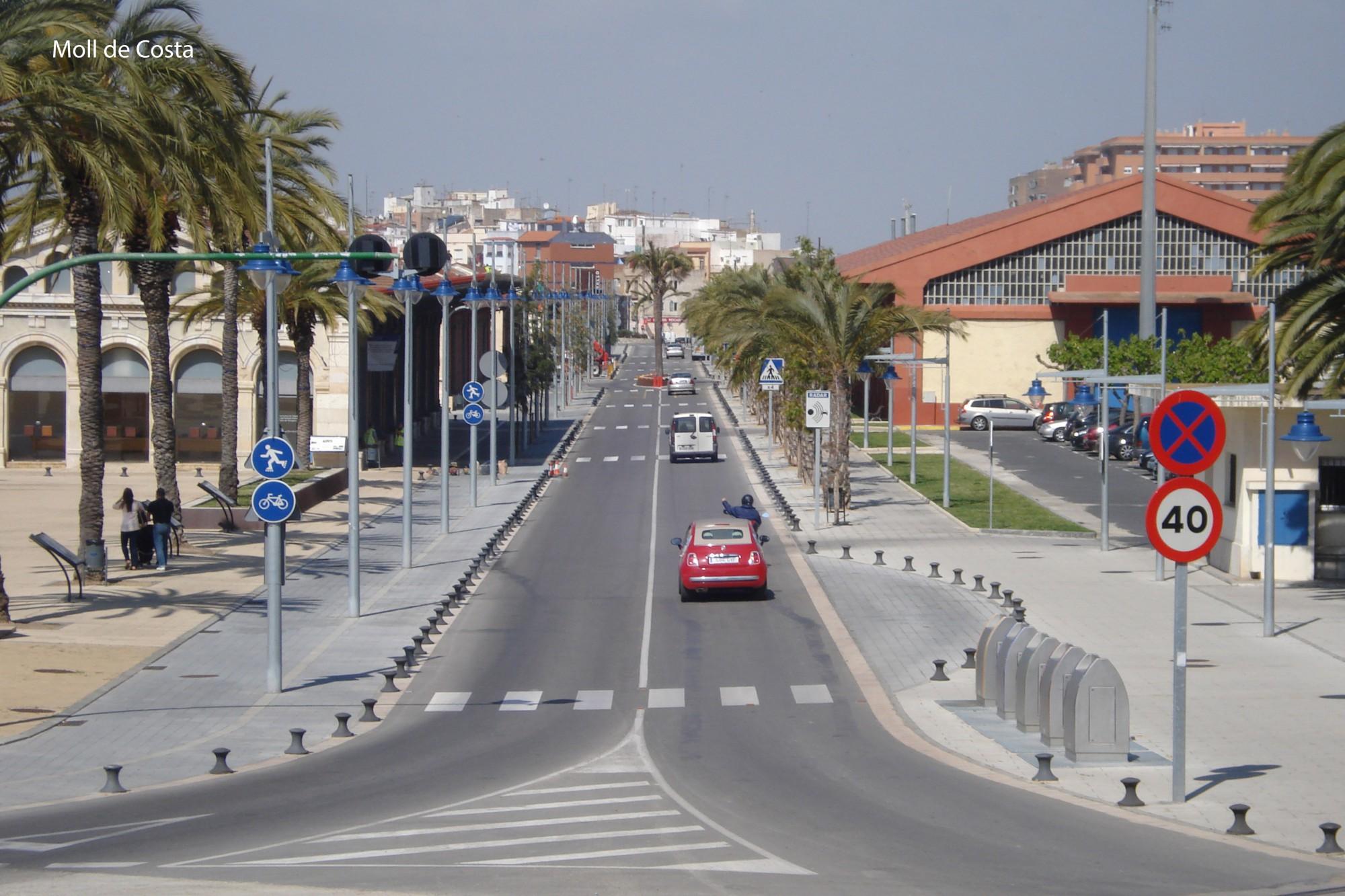 Moll de Costa Tarragona